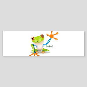 Freddie Frog Bumper Sticker