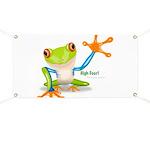 Freddie Frog Banner