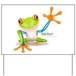 Freddie Frog Yard Sign