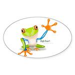 Freddie Frog Sticker