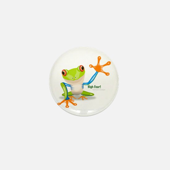 Freddie Frog Mini Button