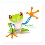 Freddie Frog Square Car Magnet 3