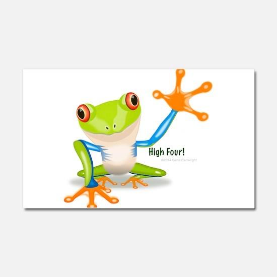 Freddie Frog Car Magnet 20 x 12