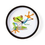 Freddie Frog Wall Clock