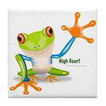 Freddie Frog Tile Coaster