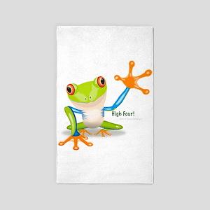 Freddie Frog 3'x5' Area Rug