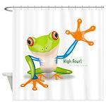 Freddie Frog Shower Curtain