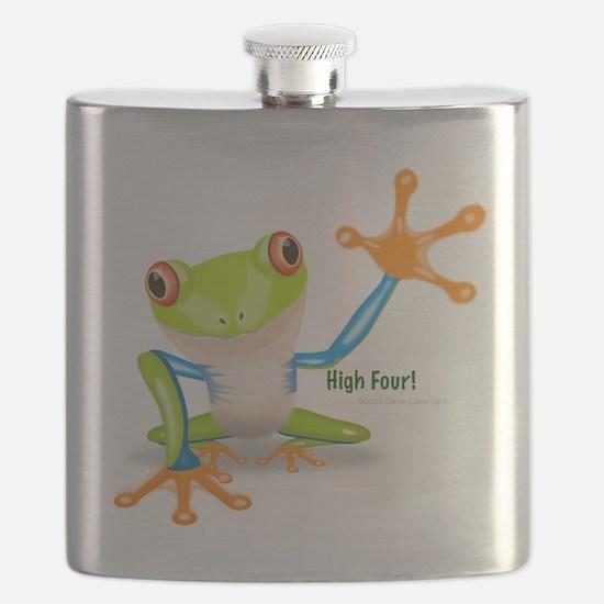 Freddie Frog Flask