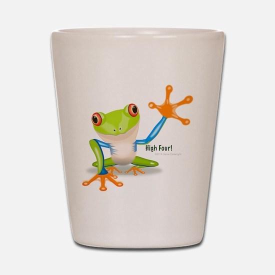 Freddie Frog Shot Glass
