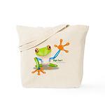 Freddie Frog Tote Bag