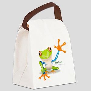 Freddie Frog Canvas Lunch Bag