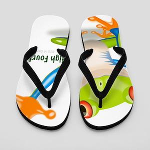 Freddie Frog Flip Flops
