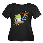 Freddie Frog Plus Size T-Shirt