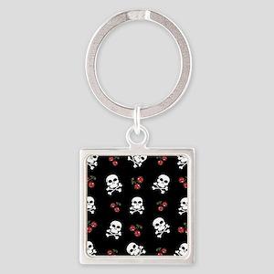 Skulls and Cherries Keychains