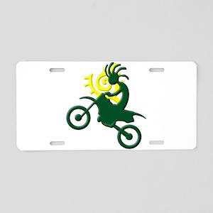 Dirt Bike Aluminum License Plate