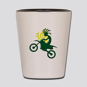 Dirt Bike Shot Glass