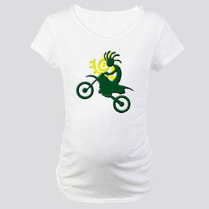 Dirt Bike Maternity T-Shirt