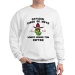 Cinco de Mayo Women's Drinking Team Sweatshirt