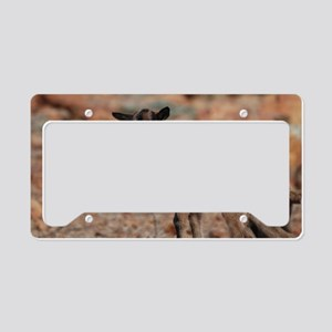 Climbing Baby Goat License Plate Holder