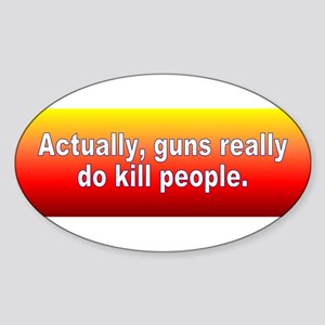 guns kill Sticker