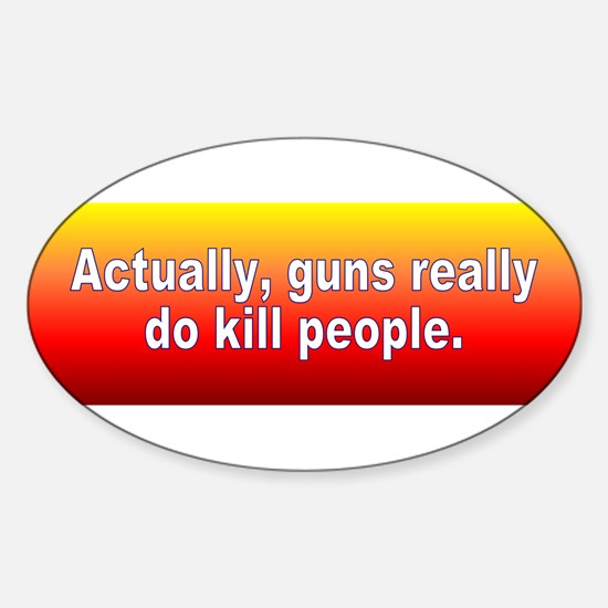 guns kill Decal