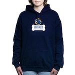 Heathers Foster Dogs Blue/Gold Logo Hooded Sweatsh