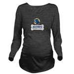 Heathers Foster Dogs Blue/Gold Logo Long Sleeve Ma