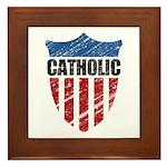 Catholic Framed Tile