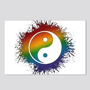 LGBT Taoism's Yin and Yan Postcards (Package of 8)