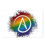 LGBT Atheist Symbol Postcards (Package of 8)