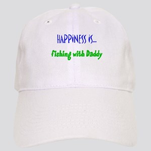 Happiness is Fishing with Dad Cap