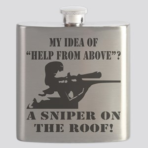 A Sniper On The Roof Flask