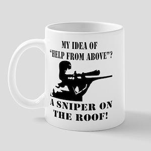 A Sniper On The Roof Mug