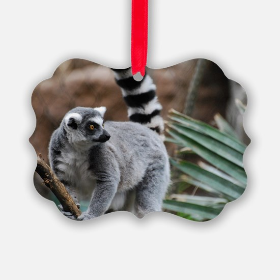 Madagascar Lemur Ornament