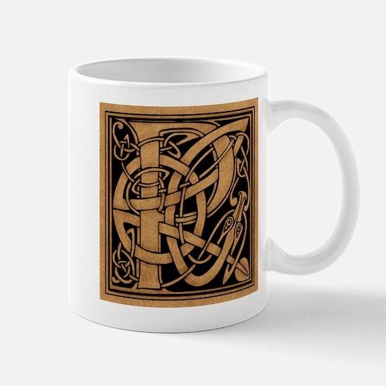 Celtic Monogram P Mug