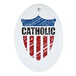 Catholic Ornament (Oval)