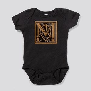 Celtic Monogram M Baby Bodysuit