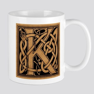 Celtic Monogram K Mug