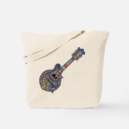 Mosaic Mandolin Tote Bag