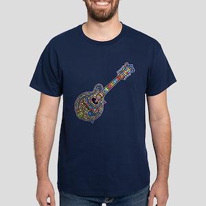 Mosaic Mandolin Dark T-Shirt