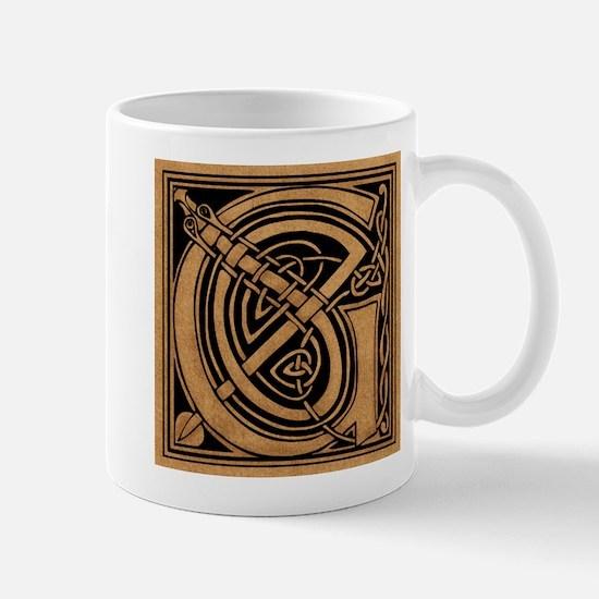 Celtic Monogram G Mug