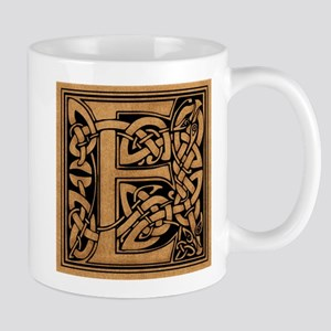 Celtic Monogram E Mug