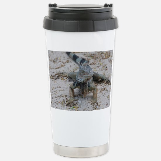Cute Iguana Stainless Steel Travel Mug