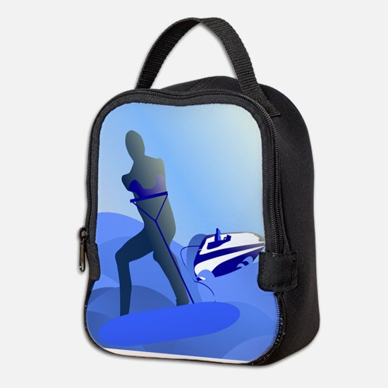 Wakeboarder Neoprene Lunch Bag