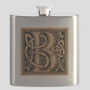 Celtic Monogram B Flask