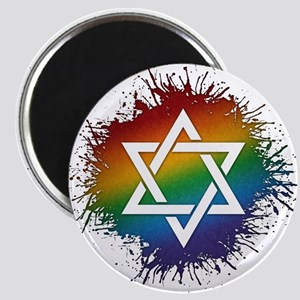 LGBT Judaic Star of David Magnet