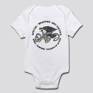 SWAT Eagle and Snake 2 Infant Bodysuit