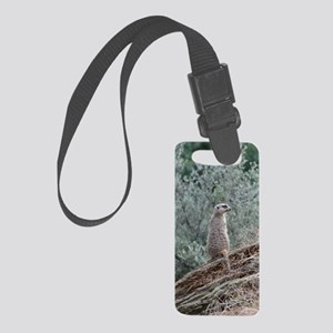 Cool Meerkat Small Luggage Tag