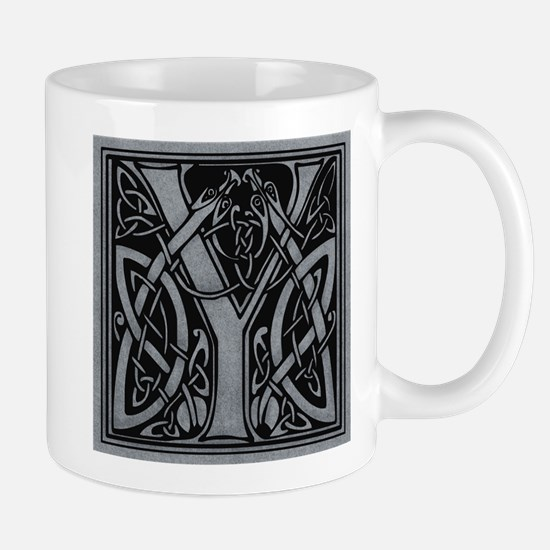 Celtic Monogram Y Mug