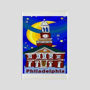 Starry Night Philadelphia Magnets